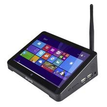 PIPO X8 Dual HD Graphics TV BOX Windows 8.1 Android 4.4 Intel Z3736F Quad Core 2GB / 32GB Tv Box 7 Inch Screen Tablet  Mini Pc(China (Mainland))