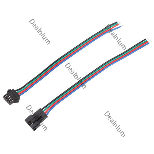 microbid Eco-friendly Flexible JST Connector RGB Led Strip Lamp Snap-in Male Female Header Connecter Premium!(China (Mainland))