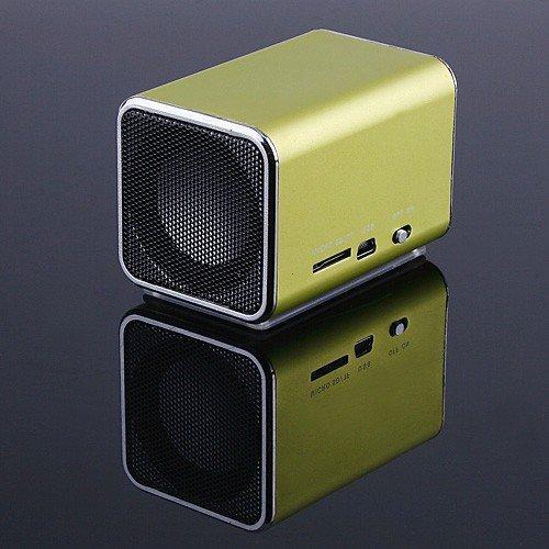 [해외]노트북 iPod 용 마이크로 SD / TF 음악 플레이어 녹색 미니..