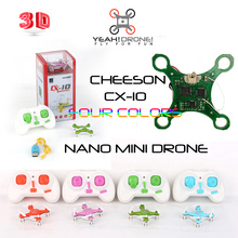 CHEERSON CX-10 quadcopter mini drone 2.4G rc helicopter Remote Control toys 6 Channel with led light 360 Degree YeahDrone