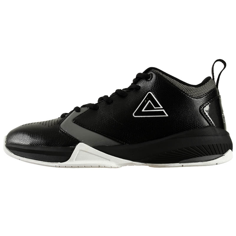 PEAK Summer Classic Basketball Shoes Men Black Dk Grey Professional Outdoor Sports Basketball Sneakers E32141A<br><br>Aliexpress