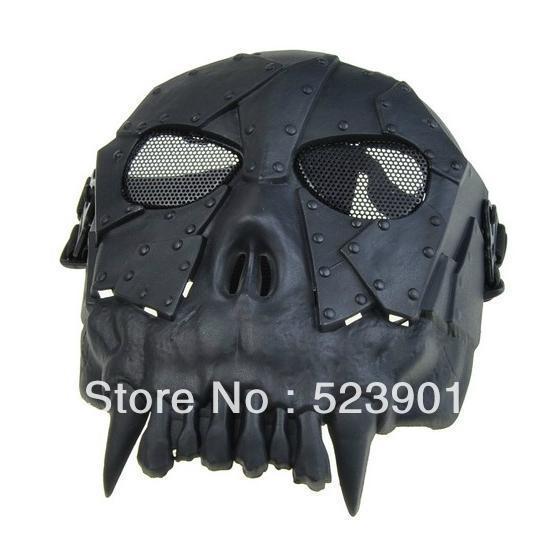 Skull Soldier Wargame US Treasure Hunter Desert Corps Militery Masks Skeleton Full Cover Face Protector Halloween Party Mask - Best Seller Online Market store