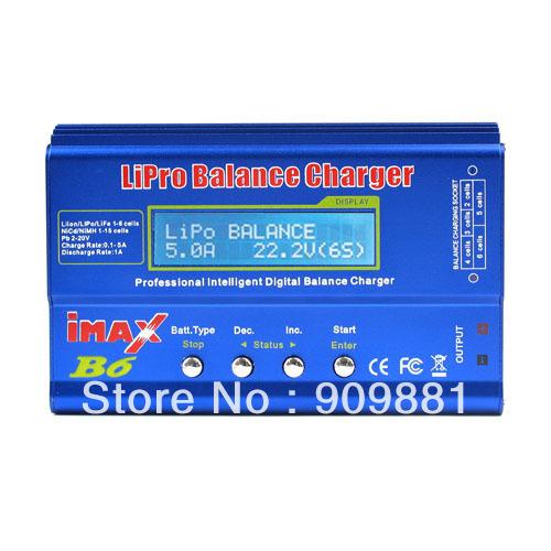 Hot sale!!! 2013 New RC IMAX B6 Digital Charger LIPO MIMH Battery Balance Charger Free shipping(China (Mainland))