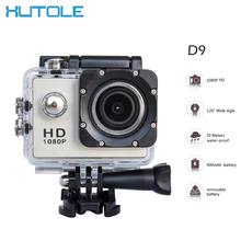 2016 HD 1080P Action Digital Cameras 2 inch Screen Waterproof 30M Sport DV Camera Sport Photo Cameras Video Mini Camcorders D9(China (Mainland))