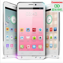 Nueva llegada 5.0 '' HD IPS MTK6589T Quad Core Android 4.2.2 ChangHong GHONG V12 8MP 5MP 1 GB RAM + 8 GB ROM GPS del teléfono / AGPS ruso(China (Mainland))