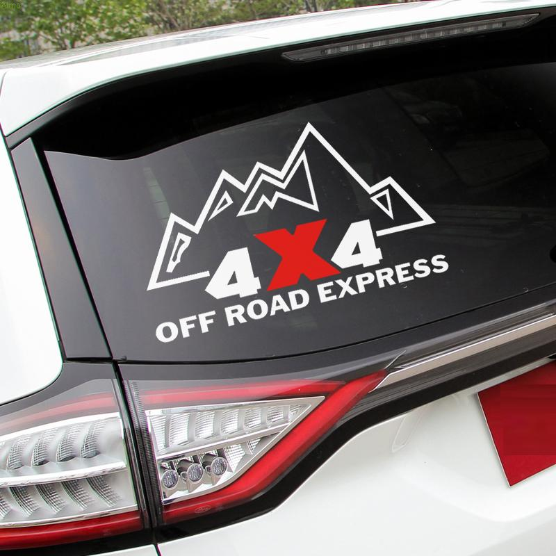 4x4 OFF ROAD EXPRESS design logo automobile sticker for JEEP WRANGLER/AUDI A6L/Q7 and so on,car windows decals vinyl