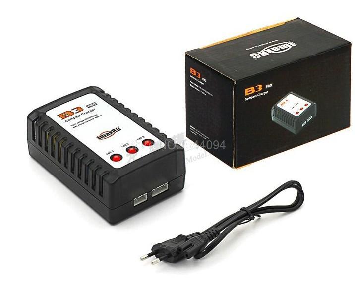 RC IMAX B3AC LIPO Battery Charger B3 7.4v 11.1v Li-polymer Lipo Battery Charger 2s 3s Cells for RC LiPo(EU Plug) Free shipping(China (Mainland))