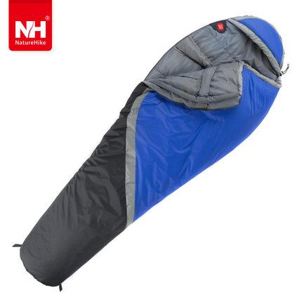 POINT BREAK NH15S001-S Outdoor Camping Mummy Type Sleeping Bag Indoor Lunch Break Imitation Silk Cotton Splicing Sleeping Bags(China (Mainland))