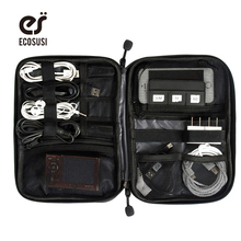 Electronic Accessories Bag Nylon Mens Travel Organizer For Date Line SD Card USB Cable Digital Device Bag Travel Accessories(China (Mainland))