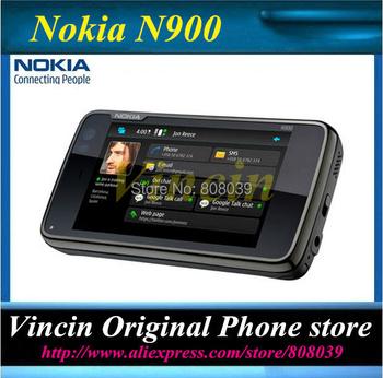 Lowest price Nokia N900 original unlocked phone GPS WIFI 5MP 32GB internal memory support Russian keyboard Refurbished
