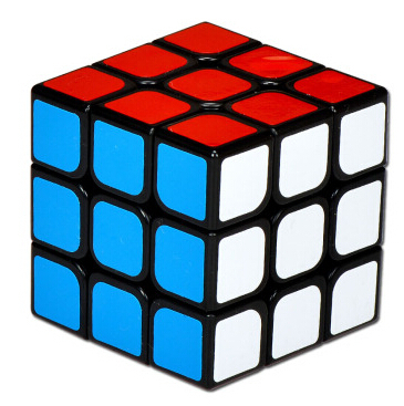 2015 Magic Cube 3x3x3 Wing Chun Guanlong cubo magico Twist Spring Speed Christmas Toy Russia(China (Mainland))