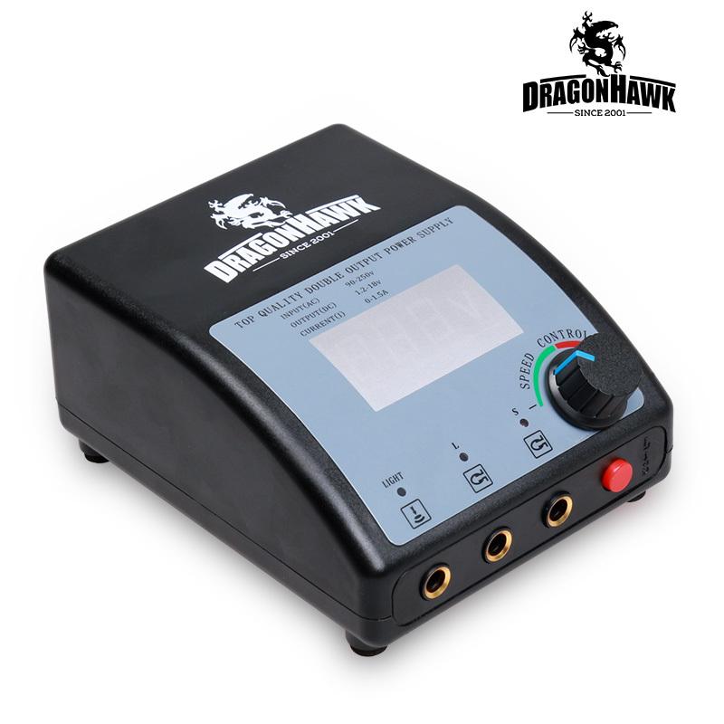 Professional Digital LCD Dual Tattoo Power Supply 110/220V<br><br>Aliexpress