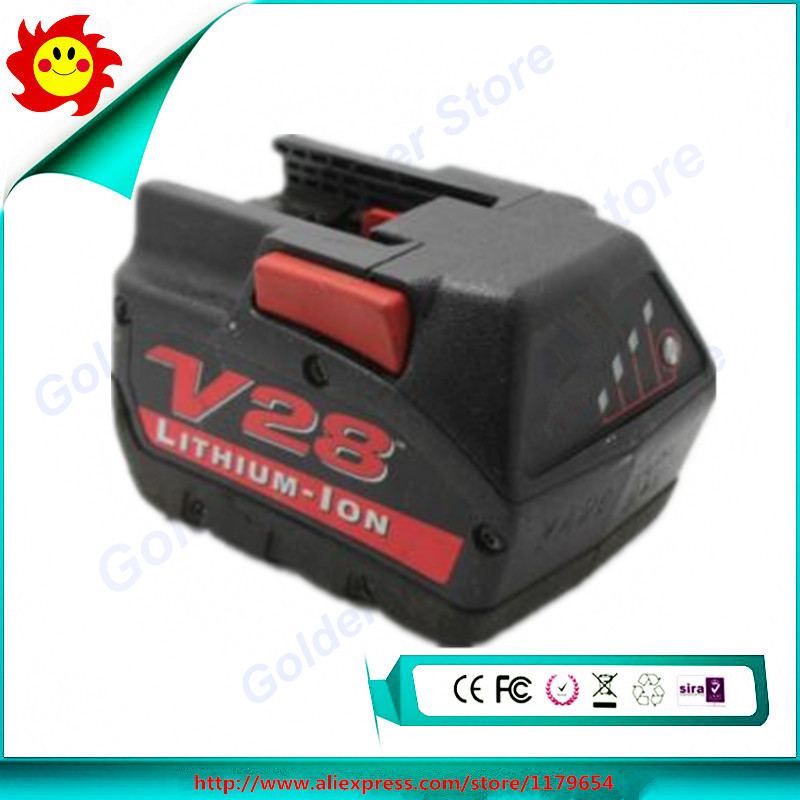 28V 2.5Ah Used Original Power Tool Battery For Milwaukee M28 and V28 Cordless Power Tools 48-11-2830(China (Mainland))