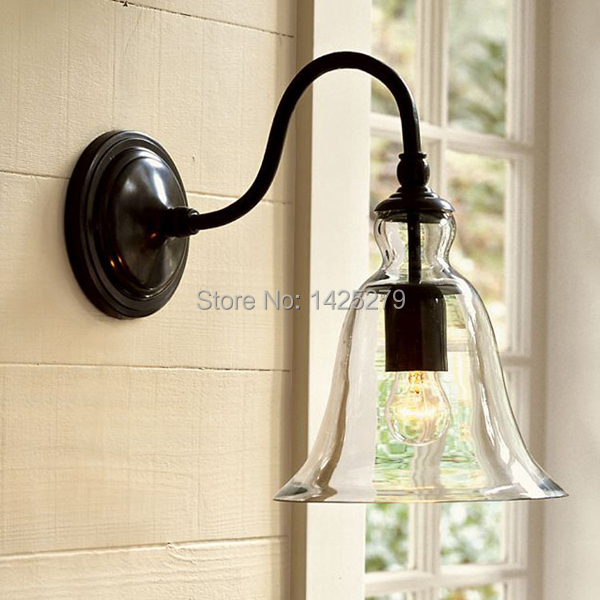 Glass wall lamp lamps for home Modern light fixtures Vintage pendant light 220V Industrial lamp Kitchen pendant lighting(China (Mainland))