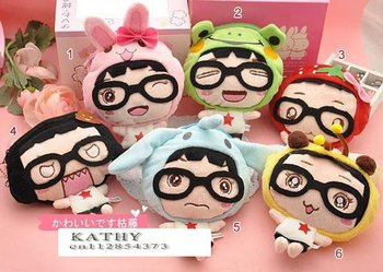 Free Shipping/small cute doll Portable Wallet/Cosmetic Bag/key holder/Storage coin bag/small Pocket/Japan Style/Gift/Wholesale