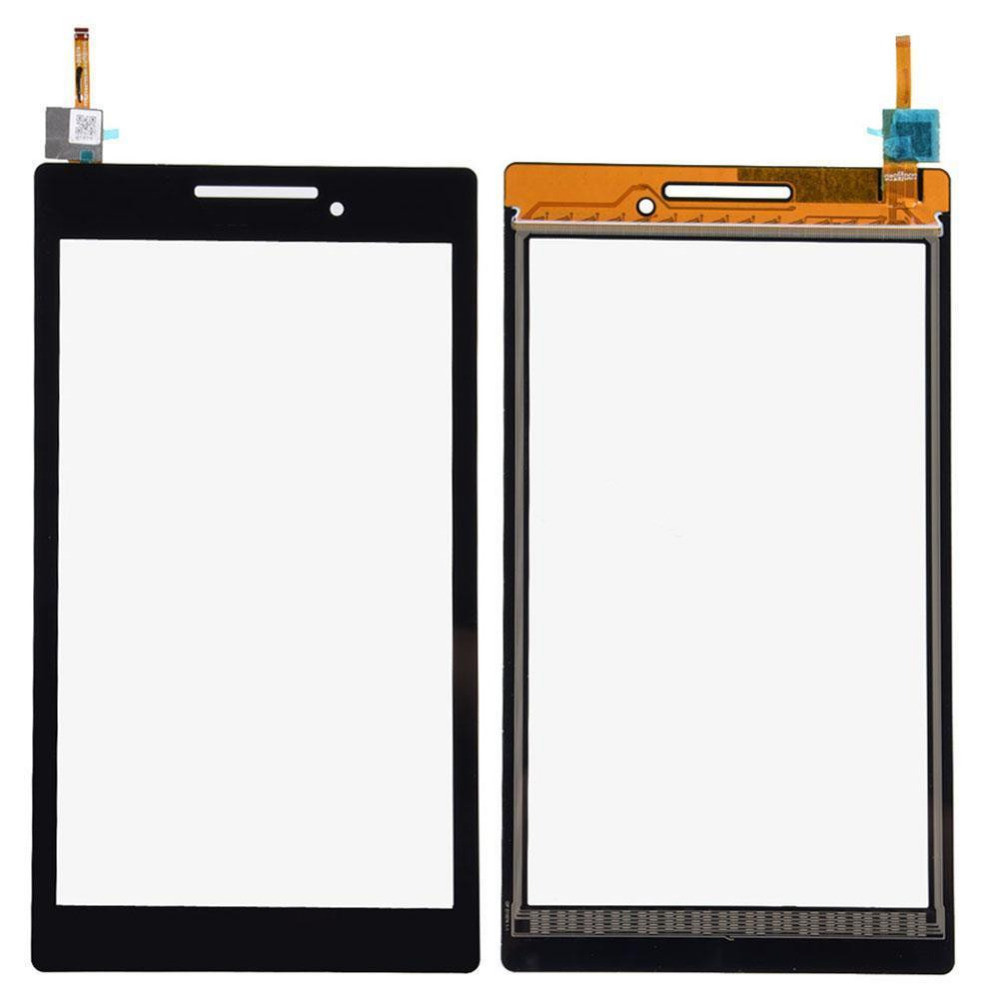 Digitizer-Touch-Screen-Glass-For-Lenovo-TAB-2-A7-10-7-free-shipping-free-tools-black