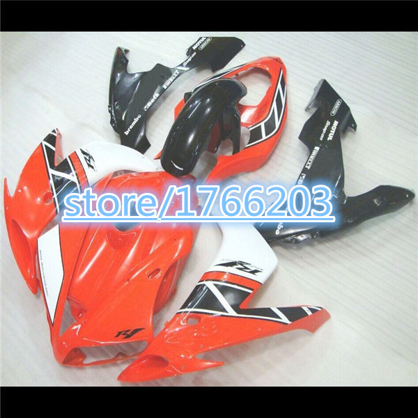 TOP for YAHAMA YZF R1 06 05 04 YZF-R1 04-06 YZFR1 2005 2004 2006 YZF1000 R1 06 05 04 fairings white red black fairing kits(China (Mainland))