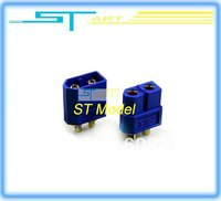 5 pairs XT60 Blue bullet Connectors  battery connector Gold-plated plug Male/Female RC lipo hobby Connector Low shipp helikopter