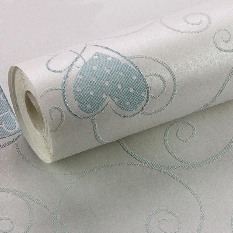 Image gallery love heart wallpaper rolls for Cheap wallpaper rolls