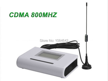 DHL Free Shipping! 4pcs/lot CDMA 800MHz Fixed wireless terminal with LCD, support alarm system, pabx, clear voice, stable signal