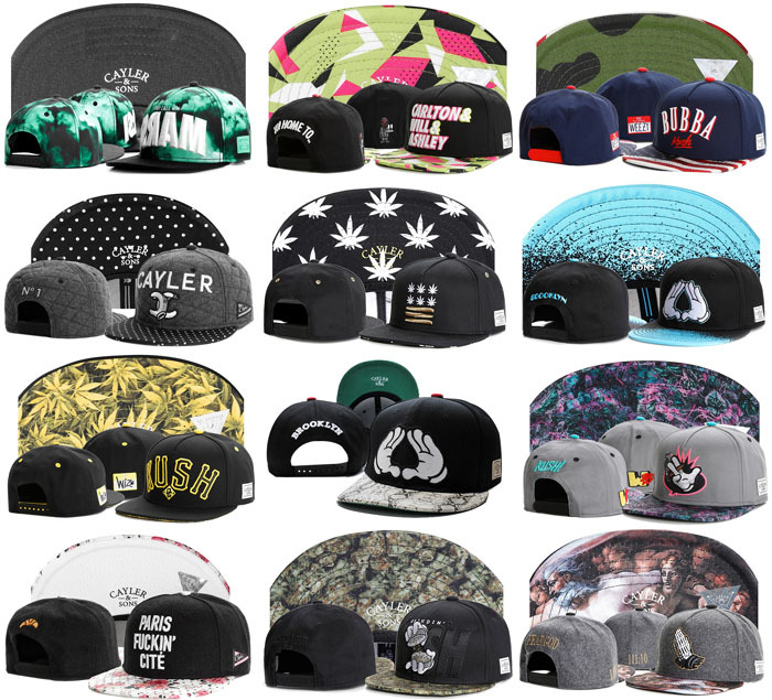 Hip Hop women Cayler Sons Gorros bone Snapback Caps Funny adjustable Bonnet Baseball hats for men shipping in box gorras planas(China (Mainland))