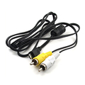 New Micro USB Male to 2 RCA AV Adapter Cable Audio Video Cable for Samsung Mobile