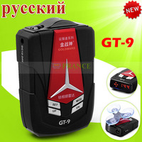 Latest Version 100% Original Conqueror GoldMars GT-9 GT-8 Upgrate Radar Detector Car Detector Russian Voice Free Shipping