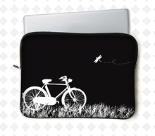 """Multi/black patchwork neoprene is_customized zipper unisex laptop bags for macbook laptop sleeve 12""""13""""14""""15""""inch newst fashion(China (Mainland))"""