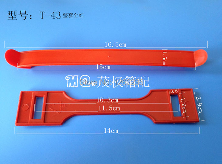 16.5 * 1.5cm Gift red plastic handle large, Carry hand, Handle, Carton plastic buckle mention Wholesale(China (Mainland))