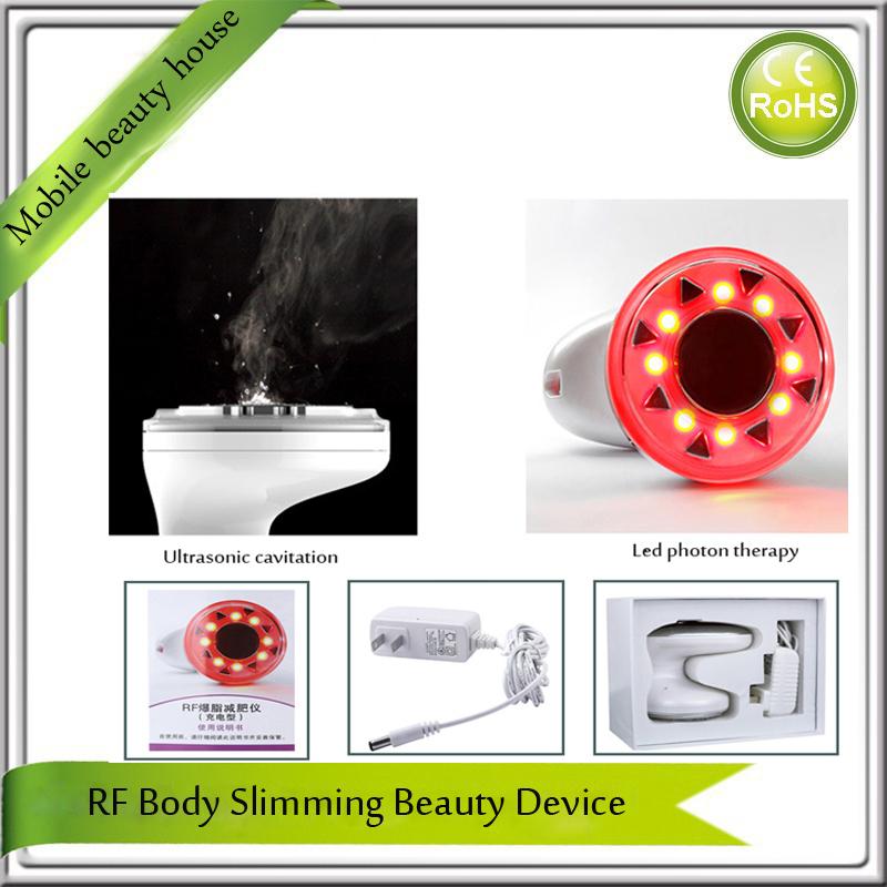 Portable Ultrasound rf Cavitation Body Fat Burning Melting Skin Tightening Body Shape Beauty Slimming Machine(China (Mainland))
