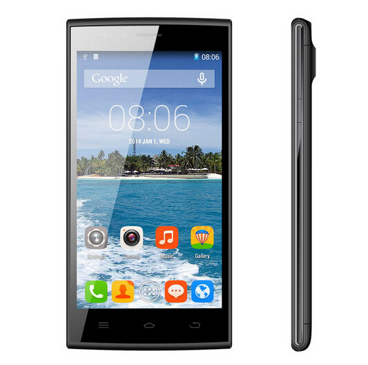 Presell THL T6C 5.0 inch IPS 854x480 MTK6582 Quad Core 3G Smart Phone Android 5.1 1GB RAM 8GB ROM 8MP Dual SIm WCDMA Cell Phone
