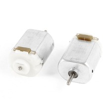 2 x RC Boat Model Toys DIY DC 1.5-3V 12000RPM Electric Micro Motor(China (Mainland))