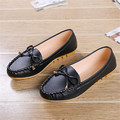 Fashion Women bow Flats Shoes Slip On Comfort Shoes Flat Shoes Loafers women ladies Candy Color