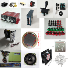 Arcade parts Bundles kit With Joystick Pushbutton Micro switch button  Pandora Box 4 Game PCB to Build Up 3 Side Arcade Machine(China (Mainland))