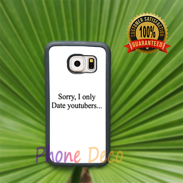 Only Date YouTubers fashion cell phone cases for Samsung S7 S7 edge S6 S6 edge plus note5 note4 S5 S4 S3 note3 note2 L7118(China (Mainland))