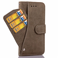 Flip Wallet Case For iPhone 7 7 Plus Pu Leather Cover For iPhone 7 7Plus With Stand Holder And Card Slots Phone Case Accessories