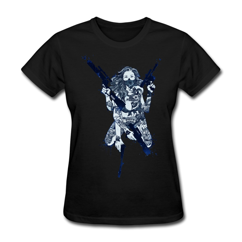 Unique design pre cotton t shirt women urban leia custom for Custom cotton t shirts