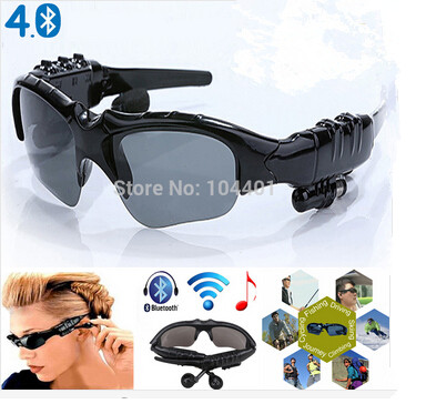 Sports Stereo Wireless Bluetooth 4.1 Headset Telephone Polarized Driving Sunglas
