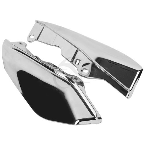 Chrome Mid Frame Air Deflectors For Harley Touring FL Electra Street Road Glide