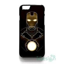 Fit for iPhone 4 4s 5 5s 5c se 6 6s 7 plus ipod touch 4/5/6 back skins cellphone case cover IRON MAN GOLD