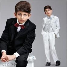 Freeshipping jungen Formalen Anzüge Jungen Personalisierte Kleidung Jungen Anzug Formale Kinder Smoking Anzug Für Hochzeit Kind Nach Maß(China (Mainland))
