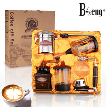 Christmas gifts Syphon beng New Year gift packages fancy coffee business gift four sets