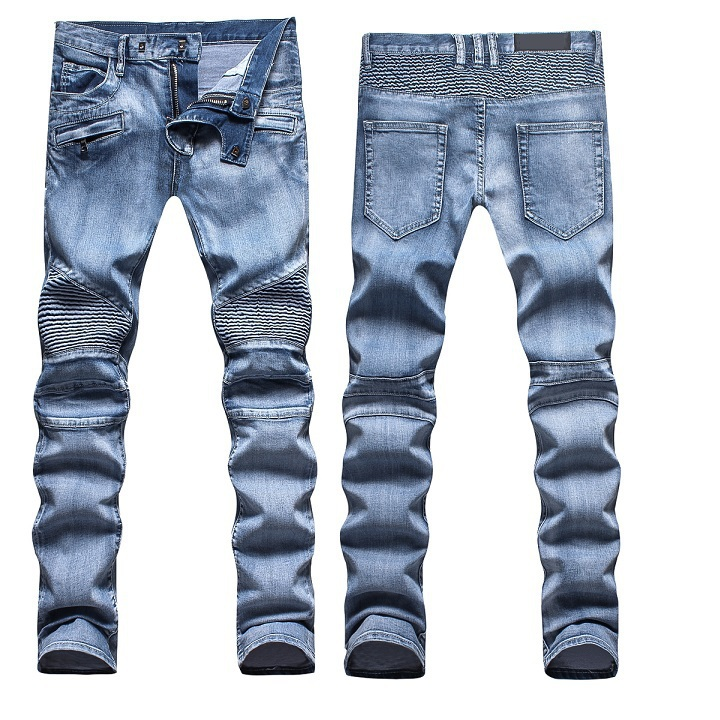 Stone washed skinny jeans for mens – Global fashion jeans collection