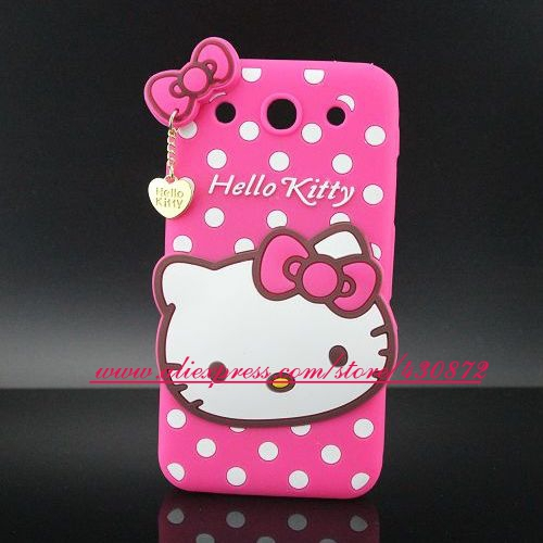 For LG Optimus G Pro Case HOT 3D Silicon Hello Kitty Cell Phone Cover for LG Optimus G Pro E980 E989 F240(China (Mainland))