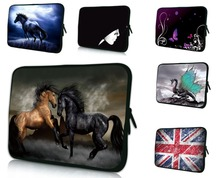 Two Horse Notebook Bag For Macbook Pro 17 17.3 17.4 inch Carry Sleeve Case + Handle Computer Accessories Fashion Handbag Netbook
