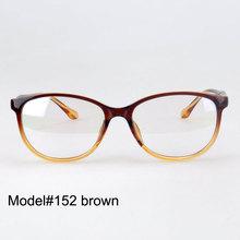 High quality colorful fashion cat eye women full rim plastic optical frame in stock 152