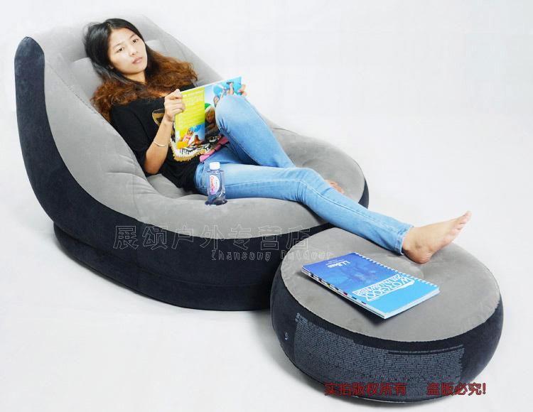 Intex modern sofa set living room furniture air sofa bed,size 90cm*136cm*76cm,include repair patch(China (Mainland))