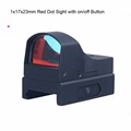1x17x23mm Mini Red Dot Sight Reflex Red Dot Scope With On Off Switch Airsoft Hunting Shooting