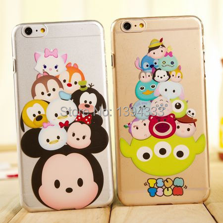 Hot sale cute Mickey Cartoon TPU Silicone Case Back Cover For iphone 5 5S 6 4.7 plus 5.5 inch Cell phone bag cover Free Shipping(China (Mainland))