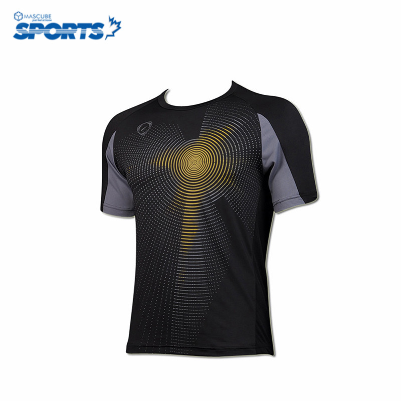 New Jersey Men Sport Dry Fit Jersey Fashion Short Sleeves Sport Quick Drying Camisetas Unique Design Jerseys(China (Mainland))